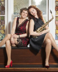 Aubry Snell saxofoon en Margreet Makerink piano
